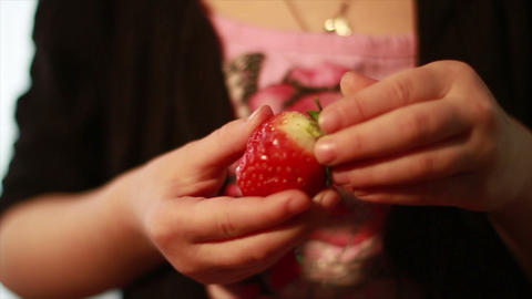 Strawberry, Wonderful Fresh Fruit Stock Video Footage