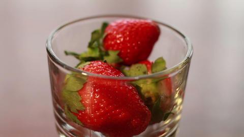 Strawberry, Wonderful Fresh Fruit stock footage