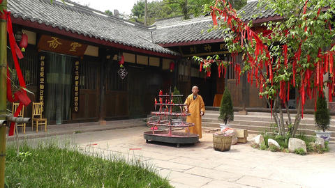 Wufeng Ancient Town Chengdu Area Sichuan China 14 Stock Video Footage