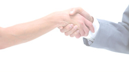 Close up of a handshake Footage