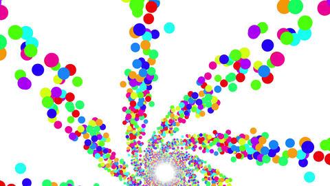 Colorful Dot DG 1 4k Animation