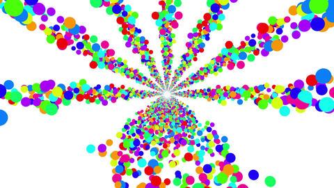 Colorful Dot B 6 4k Animation