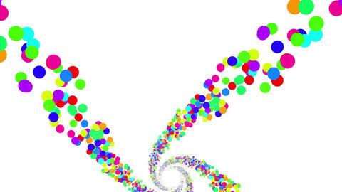 Colorful Dot DG 5 4k Animation