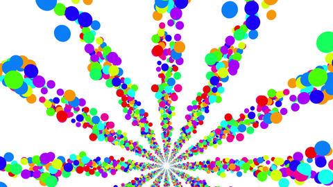 Colorful Dot BF 1 4k Animation