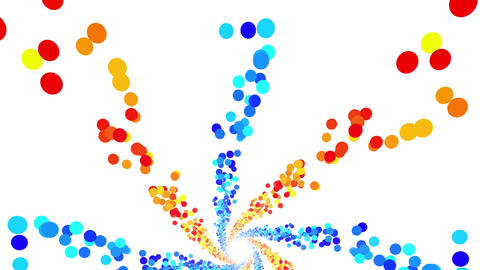 Colorful Dot DG 3 4k Animation