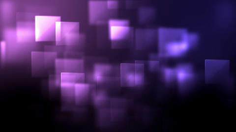 Pink and purple squares appearing, Stock Animation