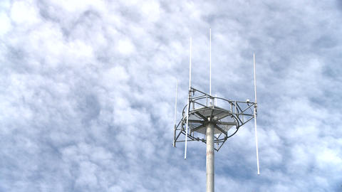 celltower timelapse Stock Video Footage