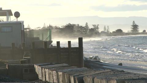 coastal erosion 2 Footage