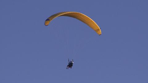 tandem paragliders Footage