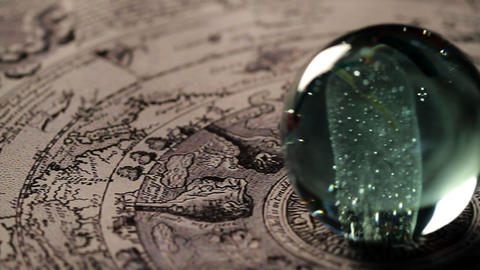 Magic sphere Stock Video Footage