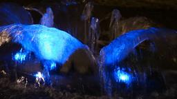 Light flower fountain Stock Video Footage