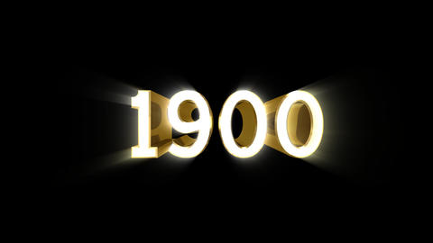 Year 1900 a HD Stock Video Footage