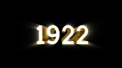 Year 1922 a HD CG動画