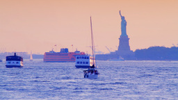 Statue of Liberty, New York Stock Video Footage