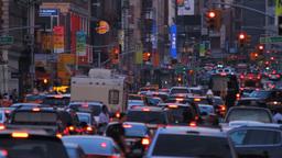 Traffic Jam Stock Video Footage