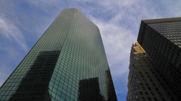 Skyscrapers Time-lapse Stock Video Footage