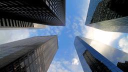 Skyscrapers Timelapse Stock Video Footage