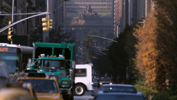New York City street traffic Footage