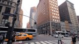 Crossroad, NYC stock footage