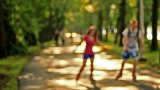 A Ride In The Park stock footage