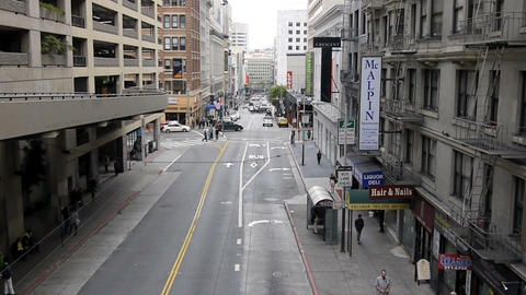 San Francisco view Stock Video Footage