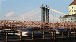 Brooklyn Queens Expressway Stock Video Footage