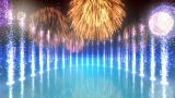 Water Show GfB4 HD stock footage