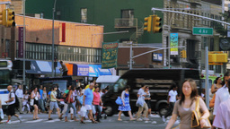 Street Traffic, New York City Stock Video Footage