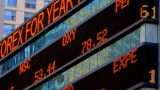Stock Market Ticker stock footage