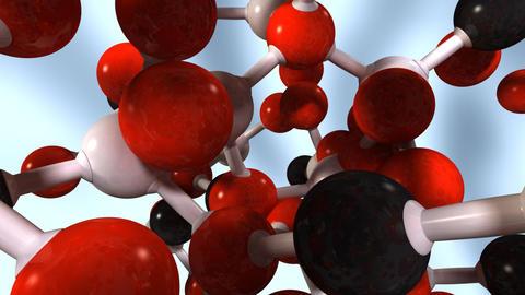molecula 04 Stock Video Footage
