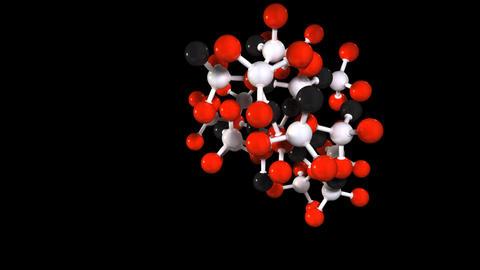 molecula 06 Stock Video Footage