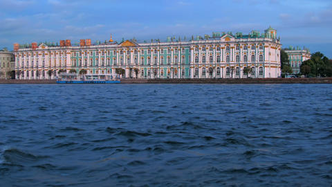 Hermitage Museum (time-lapse) Footage