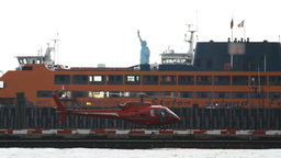 Downtown Manhattan Heliport Footage