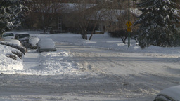 HD2008-12-7-36 snowy street Footage