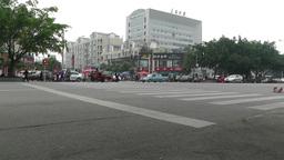Jintang Town Chengdu Area Sichuan China 60 street Footage