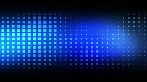 Moving blue squares Animation