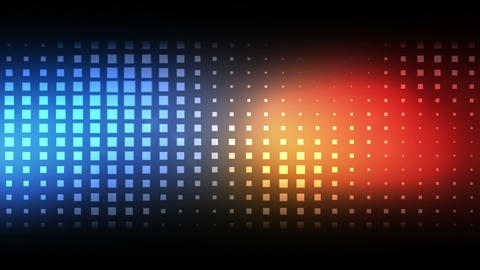 Moving blue and red squares Animation