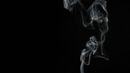 Tobacco smoke in super slow motion Live Action