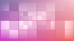 Pink square in motion Stock Video Footage