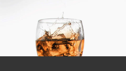 Videos of whiskey in super slow motion Animation