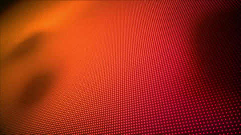 Video of multiple orange and red dots Animation
