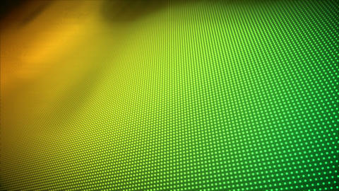 Video of multiple yellow and green dots Stock Video Footage