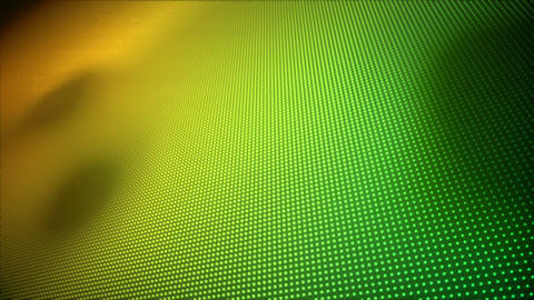 Video of multiple yellow and green dots Animation