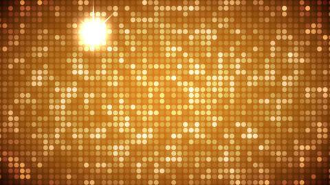 Video of gold dots CG動画
