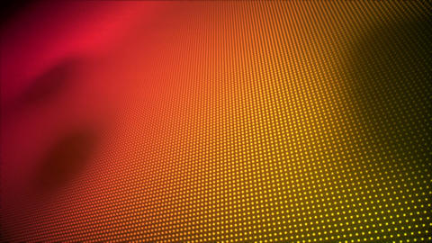 Video of multiple pink and orange dots Animation