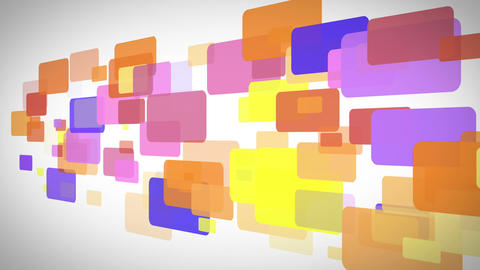 Rectangle full of color moving Animation
