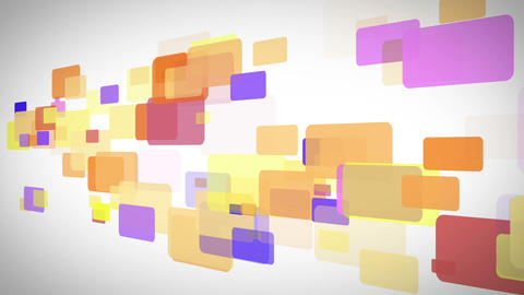 Rectangle full of color moving Stock Video Footage