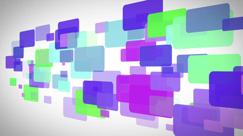 Colourful rectangles moving Stock Video Footage