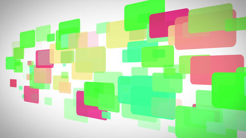 Colorful rectangles moving Animation