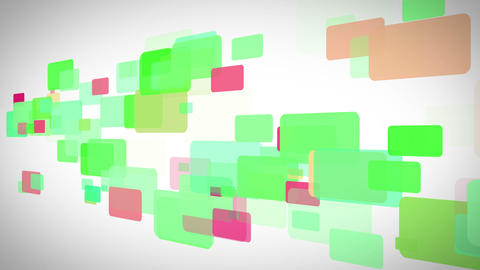Colorful rectangles moving Stock Video Footage